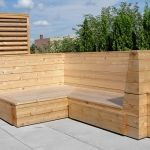 Outdoor Living Bench 08