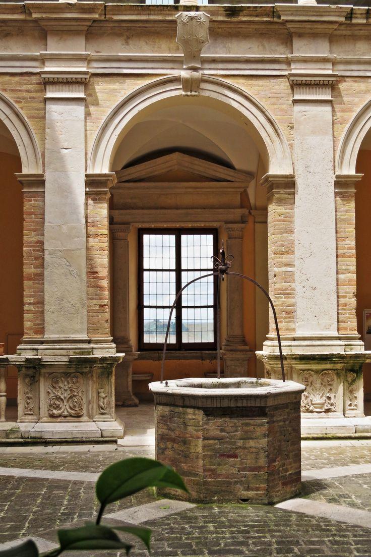 Fermo, Le Marche, Italy - Palazzo Azzolino