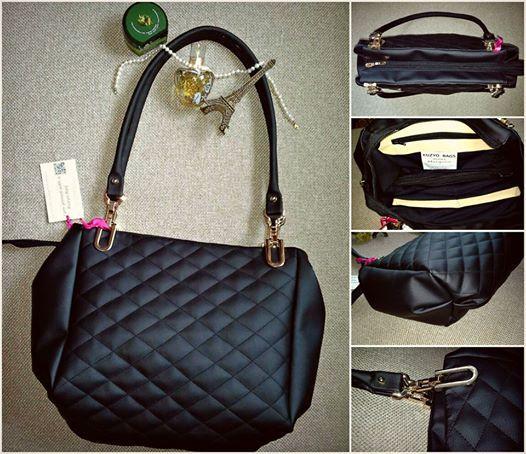 #black #kuzyo #bag #handbag #classic #design #trendy #black #fashion