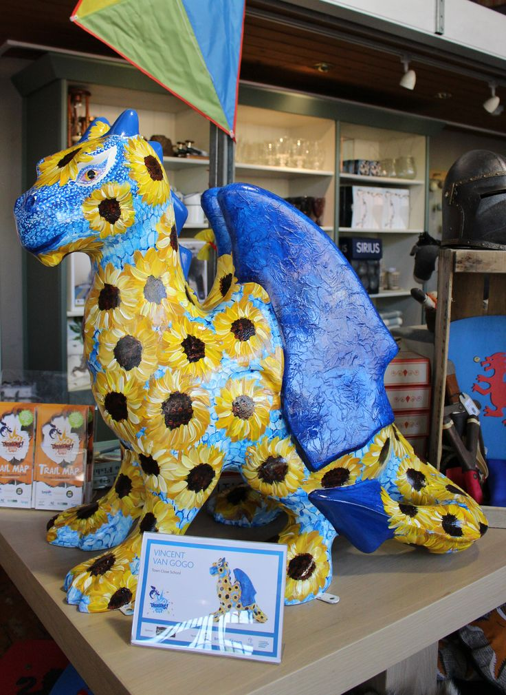 Warings At Home are looking after Vincent Van GoGo. Come and visit him and tick him off the list! #GGD15