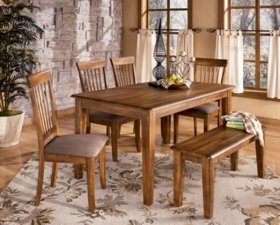 Cramped For Dining Space? Chairs Can Be Bulky Where A Slim Bench Can Fit  Nicely Against A Wall Or Under The Table.