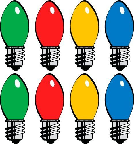 """Large Christmas Lights Car Magnet 8-Pack by Fridgedoor. $10.95. Share your true holiday spirit with this Christmas Light car magnet set. Perfect for a car, metal front door, garage door or locker. This 8-piece set features 2 each the green, red, yellow and blue Xmas lights, as shown. Each piece in this car magnet set measures 5.07"""" x 2.10"""" and features a full magnetic back."""