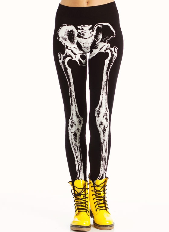 I just bought these leggings! Such an awesome find, and I can't wait to start creating outfits with them.