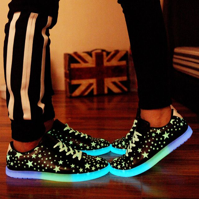 Learned Men Led Luminous Shoes Nice New Fashion Men Led Shoes Basket Shoes Led Shoes For Adults Men Led Pop Shoes Shoes Men's Casual Shoes
