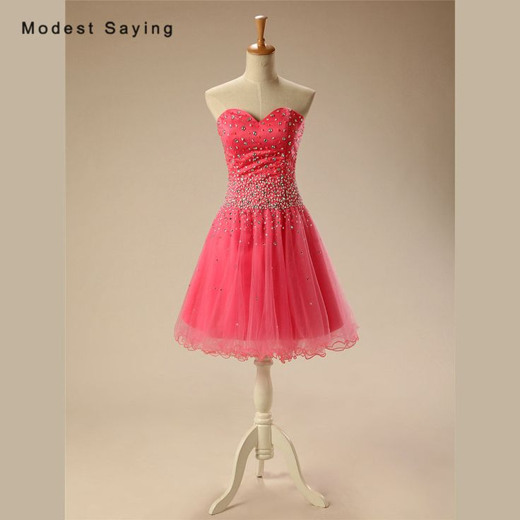 Find More Cocktail Dresses Information about Sexy A Line Sweetheart Mini Beaded Cocktail Dresses 2017 with Rhinestone Girls Short Homecoming Prom Gowns vestidos de coctel,High Quality beaded cocktail dresses,China cocktail dresses Suppliers, Cheap vestidos de coctel from modest saying Lacebridal Store on Aliexpress.com