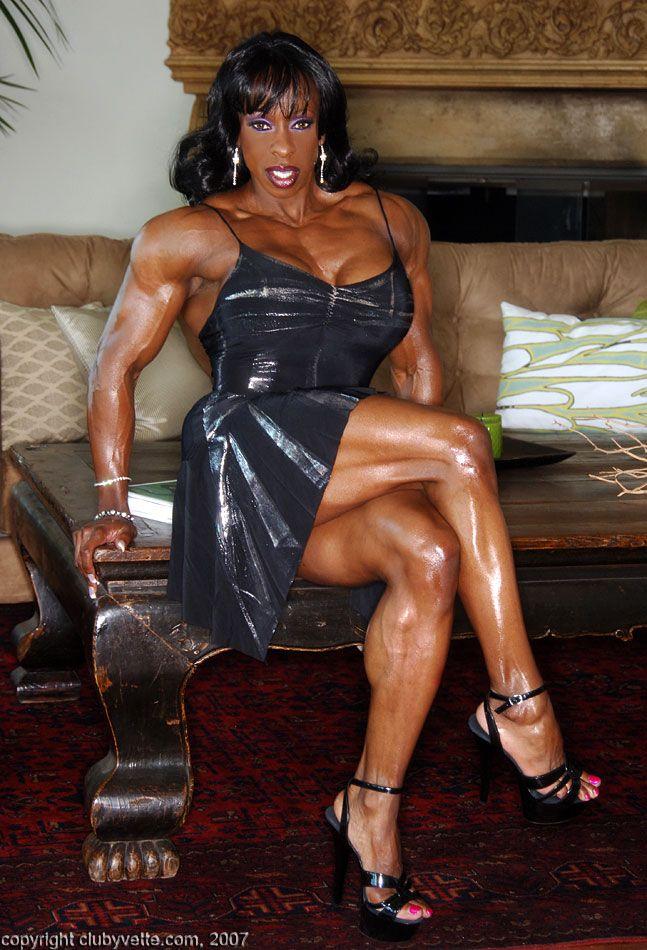 Yvette bova muscle