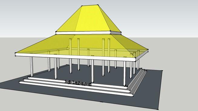 Rumah Jawa - Joglo Lambangsari - 3D Warehouse