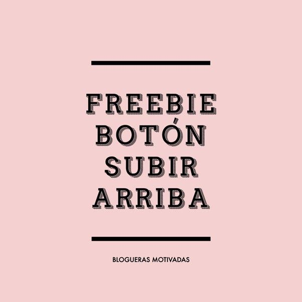 SMUK THINGS BLOG: FREEBIE | BOTONES SUBIR ARRIBA