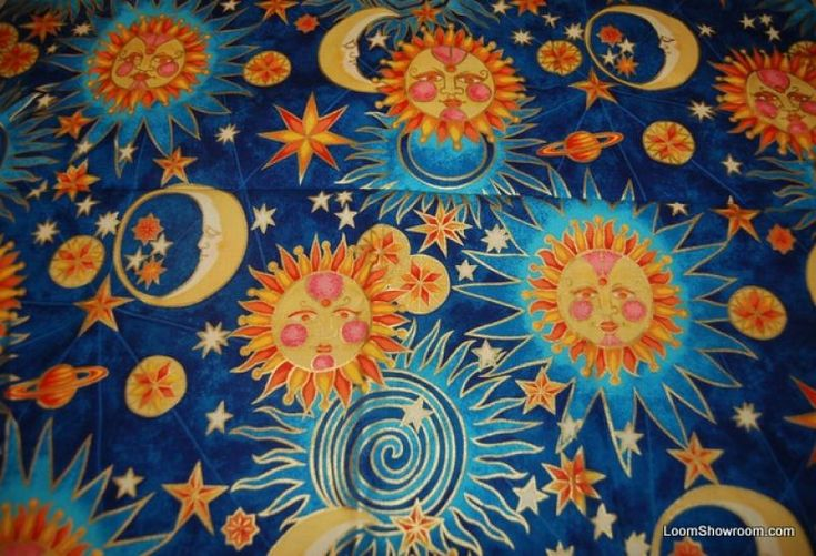 16 best images about pagan themed quilt ideas on pinterest for Sun and moon fleece fabric