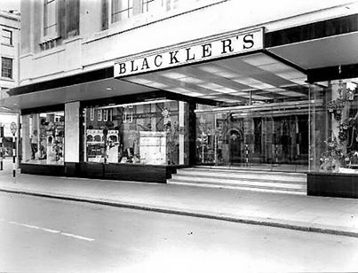 Blacklers 1950s - 1980's it was a reliable department store for the things that you most needed.