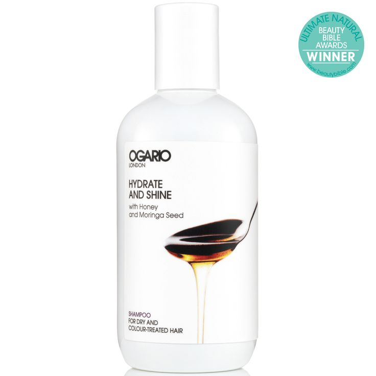 Hydrate and Shine Shampoo 250ml .   Quench the thirst with our award-winning, gently cleansing shampoo, developed to soften, protect colour and put moisture back into dry hair. For dry and colour-treated hair.