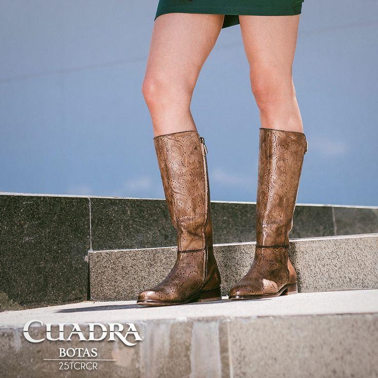 El amor a veces viene en tu talla y más si son unas #botas #CUADRA #Boots #Style