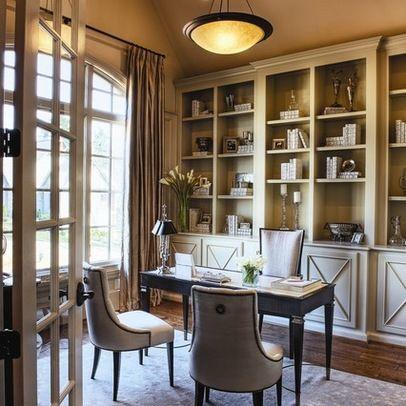 new traditional study milestone custom homes - Traditional Interior Design Ideas