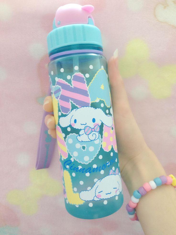 "kaiyakkuma: "" New water bottle!!! ꒰๑ ᷄ω ᷅꒱♡☆ """