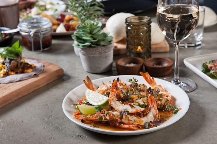 King split prawns with tomato, lime & oil @ Junction Moama // www.junctionmoama.com.au