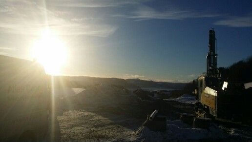 Sunny day at work in Trondheim