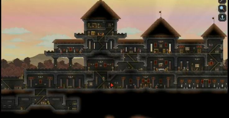 Glitch Castle in Starbound | Gaming \ ( >3