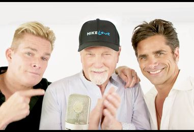 Mike Love Remakes a Beach Boys Classic With Mark McGrath & John Stamos: Exclusive Video