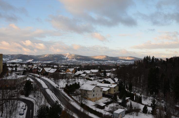 Ještěd, like in fairy tale, Liberec