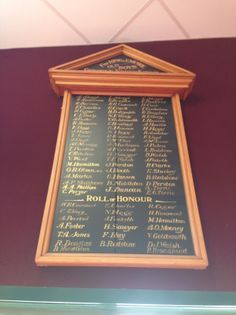 Gisborne North School Roll of Honour - Historypin | Walking with an Anzac