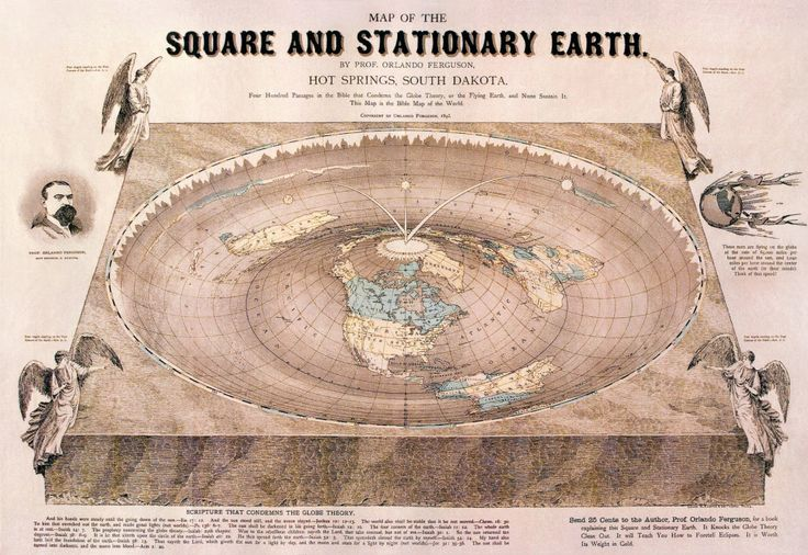 Flat Earth Theory | 11 Modern-Day Conspiracy Theories That'll Creep You The Fuck…