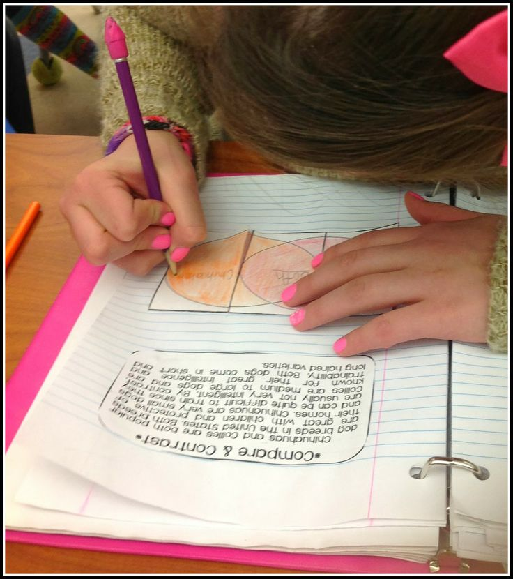 Informational Text Structures:  downloadable short examples of text structure