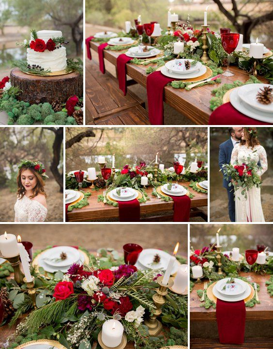 Rustic Winter Wedding Ideas | A Princess Inspired Blog | Woodland Princess Wedding Inspiration | Rachel Baker Photography