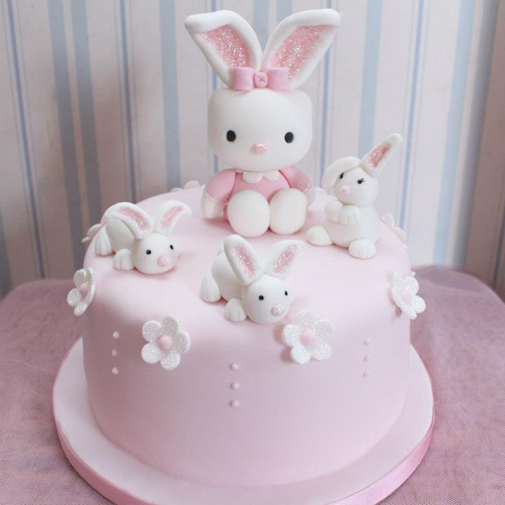 39 best Bunny Birthday Cake images on Pinterest Bunny cakes Conch
