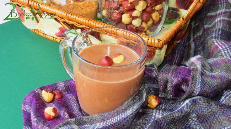 Hazelnut Hot Chocolate Recipe Raw Vegan Gluten Free Sugar Free: http ...