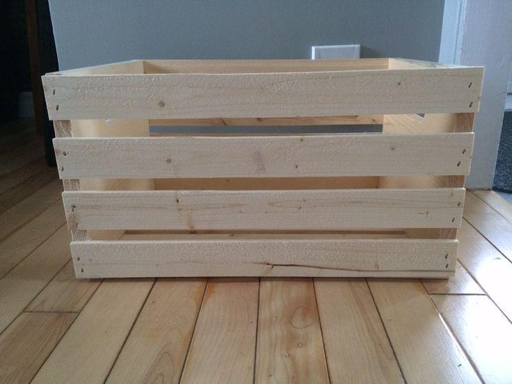 les 25 meilleures id es de la cat gorie caisses de pommes sur pinterest vieilles caisses. Black Bedroom Furniture Sets. Home Design Ideas