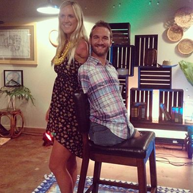 Bethany Hamilton and Nick Vujicic.