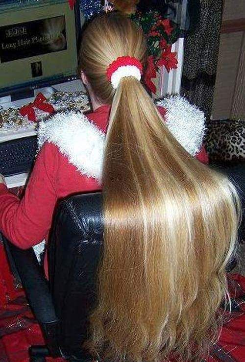 Long Haired Females Tied Up I LIKE LONG HAIR Long Hair
