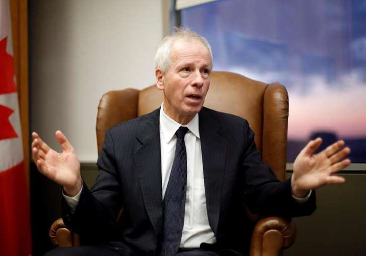 """<span style=""""font-size:13px;"""">Foreign Affairs Minister Stephane Dion.</span>"""