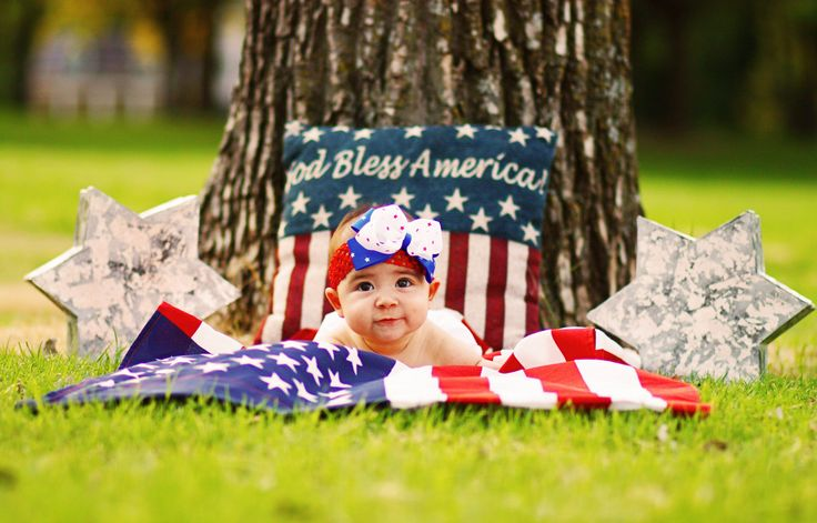 fourth of july baby reveal