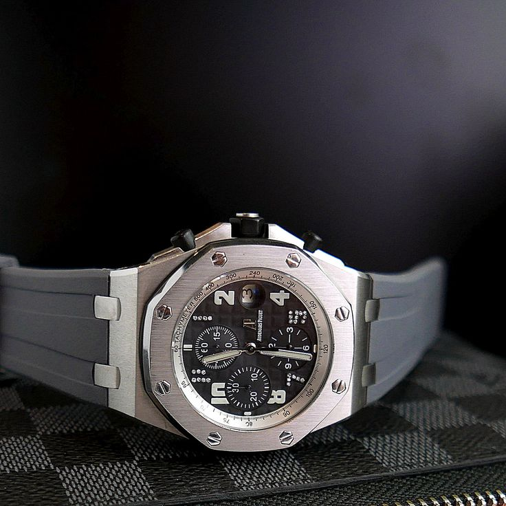 Audemars Piguet Grey Rubber strap