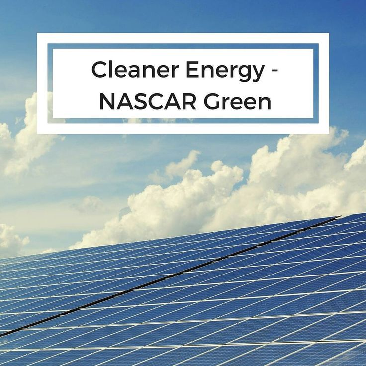 The NASCAR Green initiative is committed to cleaner energy sources.  Daytona International Speedway is one of several tracks that rely on solar power as an energy source. Can you name another track or racing team that also uses solar energy? #NASCAR #EcoLeadership #Sustainability #solarpower