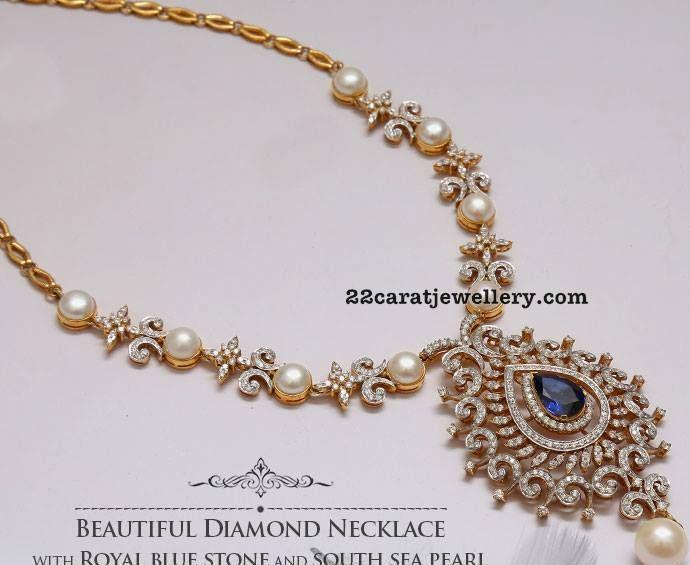 South Sea Pearls and Diamonds Set