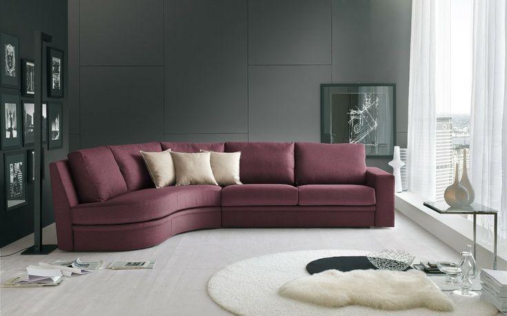 #doimo #salotti #edgar #interiordecor #color #poltrone #mobiliriccelli #furniture #sofa #violet #sittingroom #mr #leather #house #livingroom