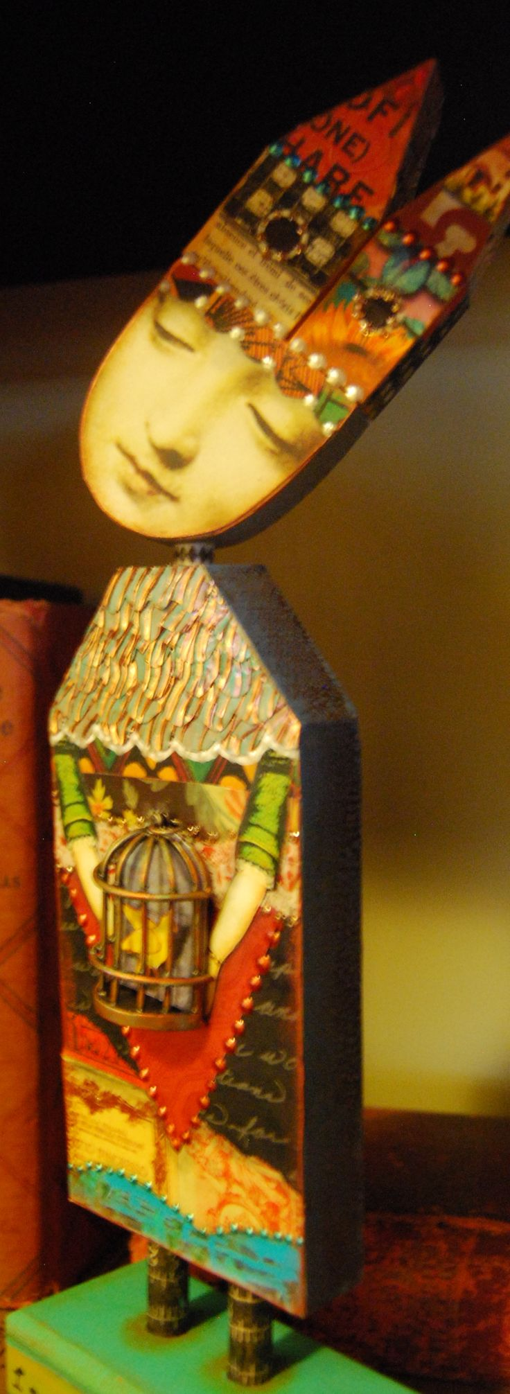 Imaginarium - Anthology of an Art Doll...an online class with Mary Jane Chadbourne on Artful Gathering in summer of 2014!  Copyright 2014 / All Rights Reserved
