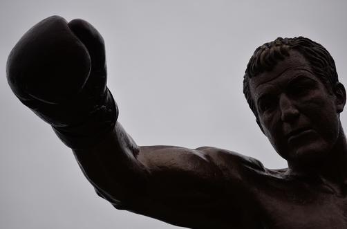 Rocky Marciano  statue