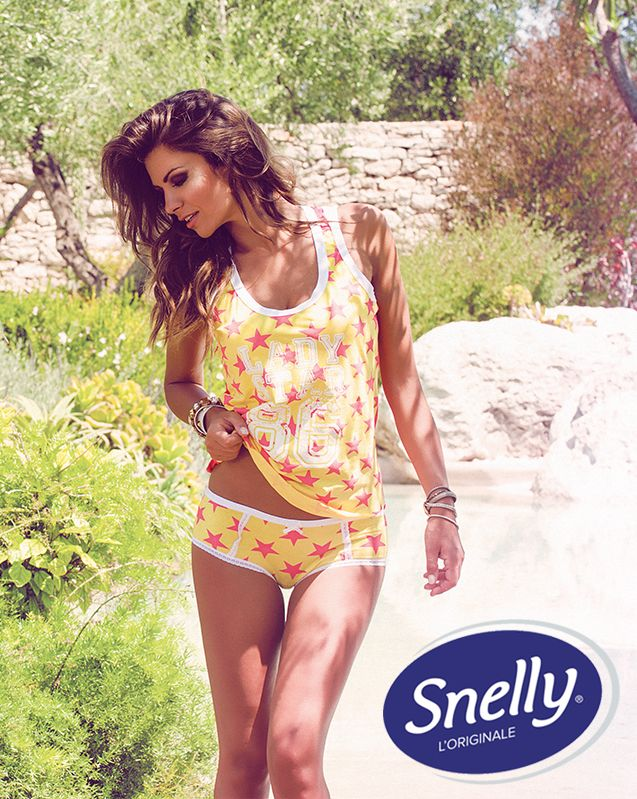 #Star Snelly Intimo #Spring #Summer Collection with Alessia Ventura.