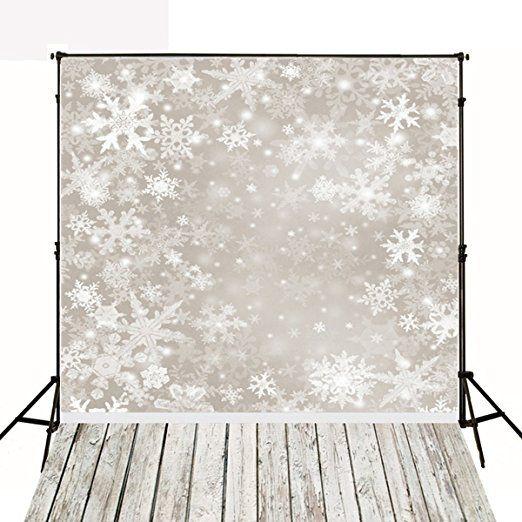 5x7ft Kate Christmas Backdrops Photography Frozen Snow Wood Floor Background for Children Photo Studio Backdrop