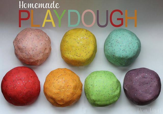 The Best Homemade Playdough using Kool-Aid. Recipe and picture tutorial. Smells great too! #CraftForKids #KidCraft #Recipe