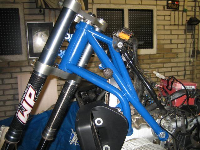 Motorky BMW GS - vše o motocyklech BMW řady GS a o cestování - Články: BMW R 1150 Enduro, přestavba