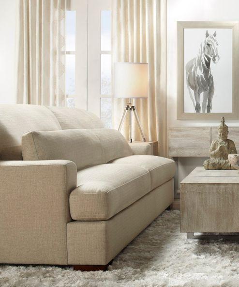 Parker Neutral Living Room Inspiration Look On