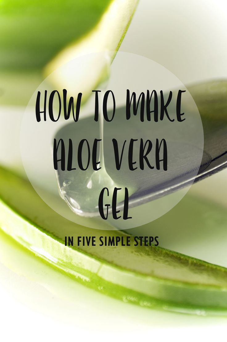Easy tutorial for how to make aloe vera gel. Great for skin problems and so much more.