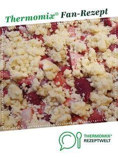 Schneller Streuselkuchen mit Obst (Tassenkuchen)