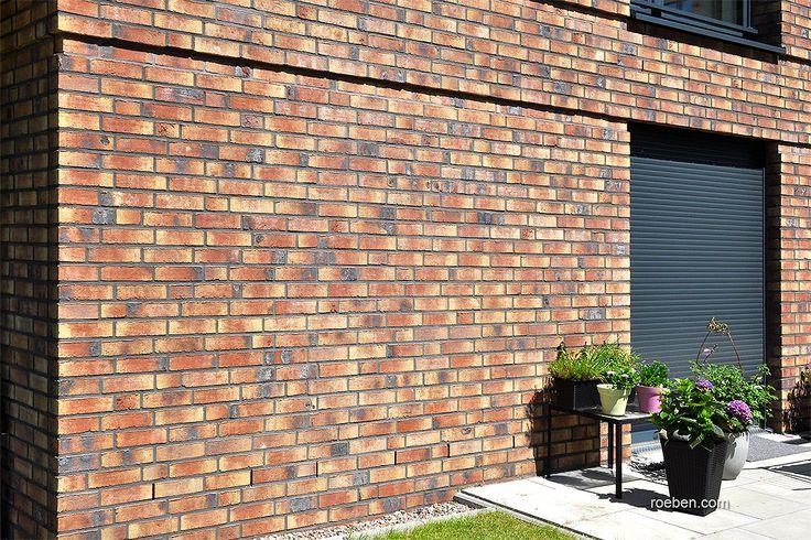 Röben Klinker, Bricks | Handstrichziegel WIESMOOR erd-bunt | Wohnungen in Osnabrück