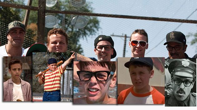 "Sandlot cast members reunite 20 years later at the actual ""Sandlot"". ""You're killin' me Smalls!"""