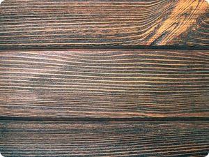 Так выглядит состаренная древесина